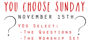 You Choose Sunday