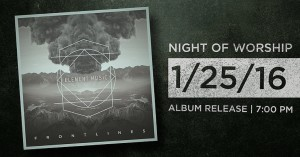 Album Release and Night Of Worship