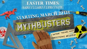 Easter Sunday:  New Sermon Series