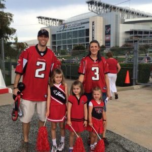 Lance Fam at ATL game in Houston