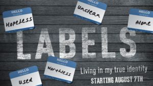 Labels:  Living In My True Identity (New Sermon Series)
