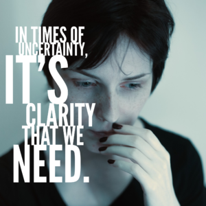 How Do We Face Uncertainty?