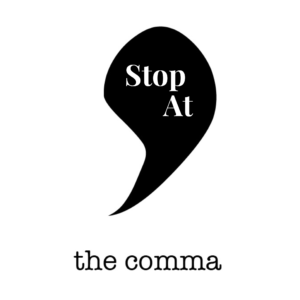What Does It Mean To Stop At The Comma?