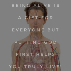 How Do I Put God First In My Body?