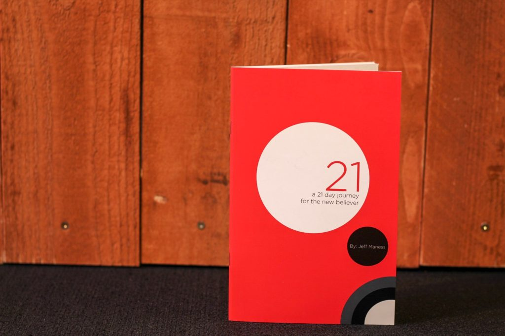 New Resource For Churches:  A 21-Day Journey For The New Believer