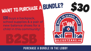 Back To School Bash:  Back Pack Bundles