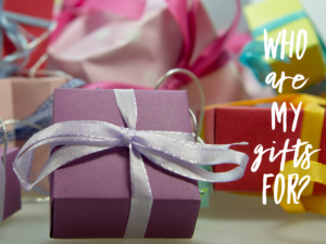 Who Are My Gifts For?