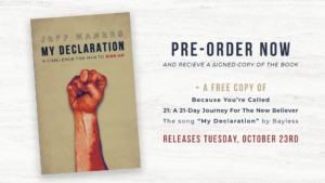 "FINAL WEEK To Pre-Order ""My Declaration: A Challenge For Men To Rise-Up"""