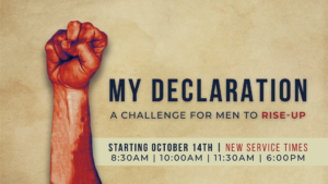 My Declaration (New Sermon Series)