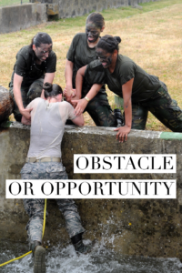 Obstacle Or Opportunity?