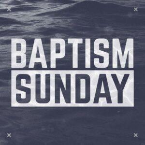 Baptism Sign-Ups
