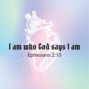 I am who God says I am!