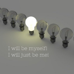 Declaration Of Truth: I will just be me!