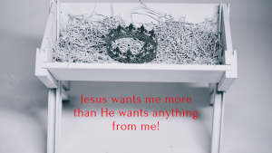 Jesus wants me!